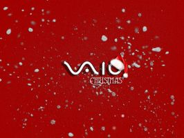 Vaio christmas wallpaper by HjBoY