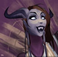 Draenei -cheer by DiosaWoW
