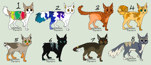 Adopts. 3 (OPEN) by JocastaTheWeird