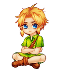 Young link by onisuu