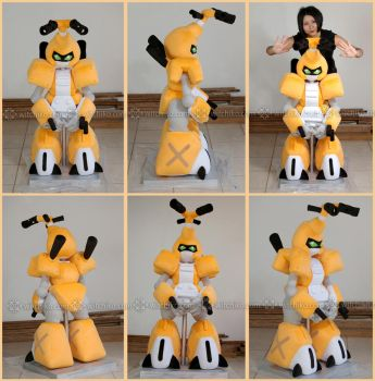 Metabee:::Medabots by Witchiko