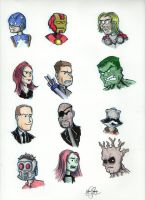 Marvel Movie Universe by johnnyism