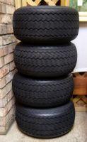 Four Big Wheel Stacked Tires STOCK by KarahRobinson-Art