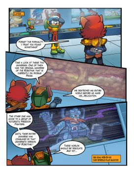 Mobius Legends Issue #1 - Page 3 by Yarcaz