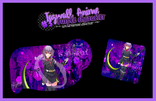 Tagwall-Anime--3---Purple Character- by AkiHimekoSakue