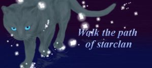 walk the path of starclan by SilverTalon-articuno