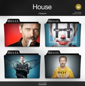 House TV Folders by VisionFolders