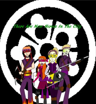 TMNT 2012 Future: The New Heroes by MiraculousLover21