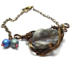 Faerie Garden Bracelet by sojourncuriosities
