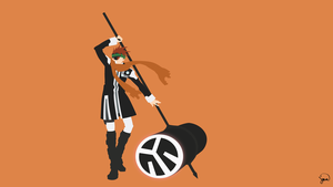 Lavi (D.Gray-man) Minimalist Wallpaper by greenmapple17