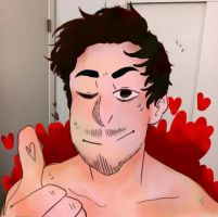 #SexyMark - Markiplier by NeLite-Art
