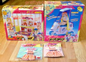 Sailormoon SuperS Full Pizza Shop set by kelleyko