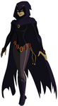 Young Justice: Raven by AMTModollas