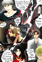 UpComing APH doujinshi -- ROMEOxROMEO by aphin123