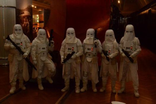 Snowtroopers - Thundersnow Assault Squad by MistressKristin
