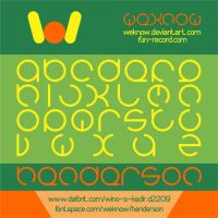 henderson font by weknow by weknow
