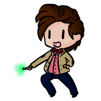 Doctor Who Chibi by SlightInsanity