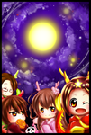 Mid-Autumn Festival in Greater China! by DrawHui