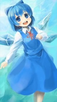 cirno is simple-kawaii by usada7