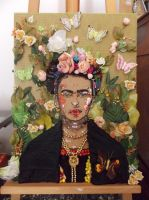 Frida Kahlo by NadienSka
