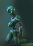 Artificial Intelligence and Machinery by Raikoh-illust