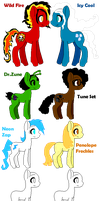 My Little Breedable Ponies Adopt Bid! by PacificIslanderGirl