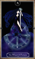 Miss Magix R1 - Tarot Cards - The Wheel of Fortune by Moryartix