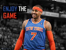 Carmelo Anthony I Enjoy The Game Collection by RafaelVicenteDesigns