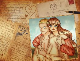 Letter to us - Sabo x Eve by eve-sh