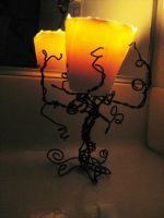 Tree Candle Holder by skelling-jen13