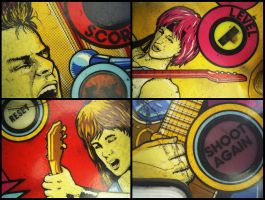 Pinball - Mullets Galore by michelv