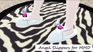 [MMD Download] Angel Slippers by Forbidden-Arts