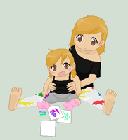 me and my sister by kenley-0