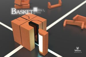 Cube Basketball by xipx