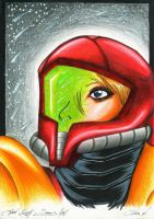Head Study : Samus Aran by Shiranui94