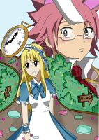 Nalu In Wonderland by frozenrain22