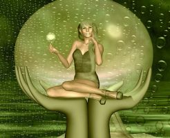 The Elven Oracle by VisualPoetress