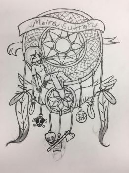 Sketch of Illustrated Crest by missymomo7