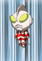 Re-post of chibiUltraman color by ragelion