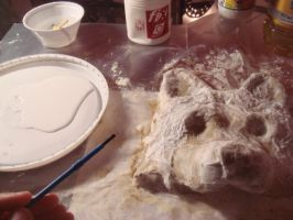 Wolf mask - Step 3 by Alicemonstrinho