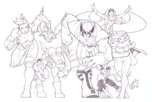 Wolverine and the X-Men 2010 by LucasAckerman
