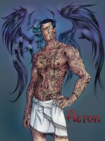 Aeron Lord By Anyae - colour by gee by geeport