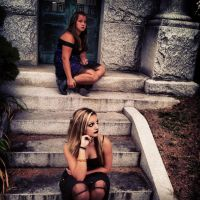 Sitting On The Steps 2 by ArizaonaRose
