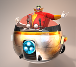 Supreme Eggman's Rusty Egg Mobile by adnansonic