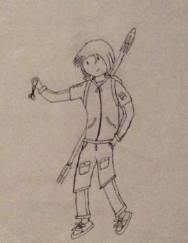 Drake Adams my adventure time Oc... by theFallenSENTIENT18