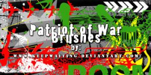 Patriot of War Brushes by KeepWaiting