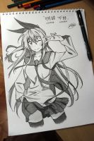CHITOGE KIRISAKI (TRADITIONAL) by Zer0-Slayer