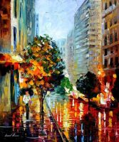 LONELINESS by Leonid Afremov by Leonidafremov