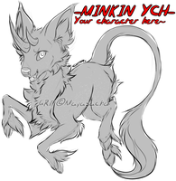 .:YCH AUCTION CLOSED: Minkin character, e.t.c:. by Mayasacha