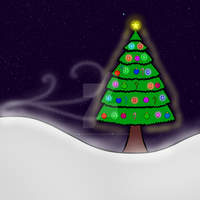 Christmas picture 1: Night of Lights by Mysticblueshadow